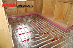 地暖安装有哪些步骤?跟着德国玫尔学地暖安装!